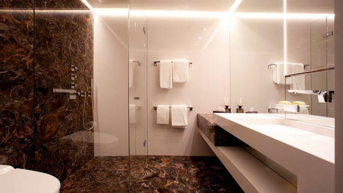 Bagno Appartamento privato Zurigo - Andrea Laudini Design